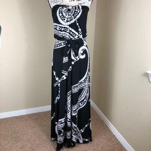 White House Black Market Stretch Jersey Dress S
